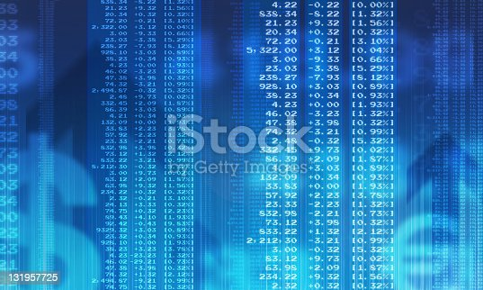 Abstract business Image, illustrating a Financial figures background. Available in XXXL format.