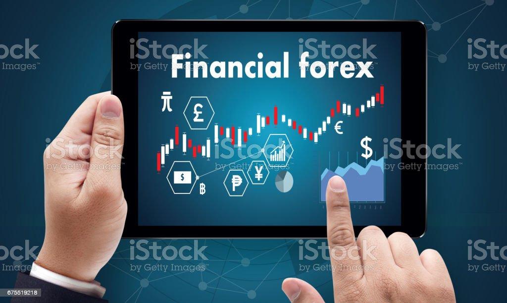 Finans forex borsa, finans, iş mum sopa graph grafiği royalty-free stock photo