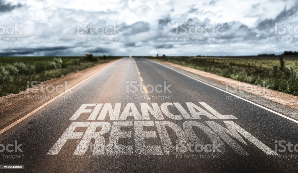 Financial Freedom stock photo