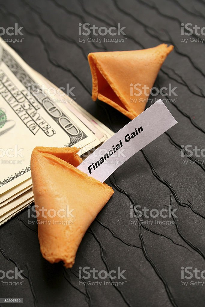 Financial Gain royalty-free stock photo