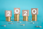 2020, Business, Budget, Goal - Sports Equipment, Business Finance and Industry