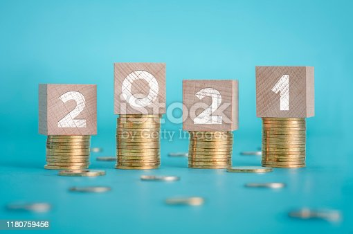 2021, Business, Budget, Goal - Sports Equipment, Business Finance and Industry