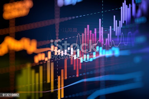 istock financial graph on technology abstract background 913219882