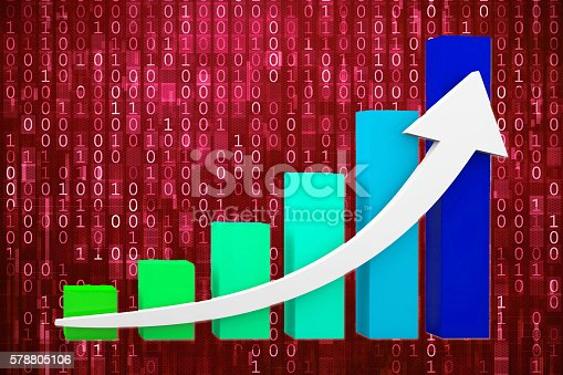 istock Financial growth chart 578805106