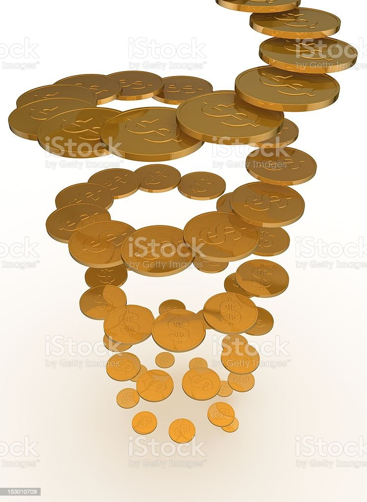 financial growth metaphor stock photo