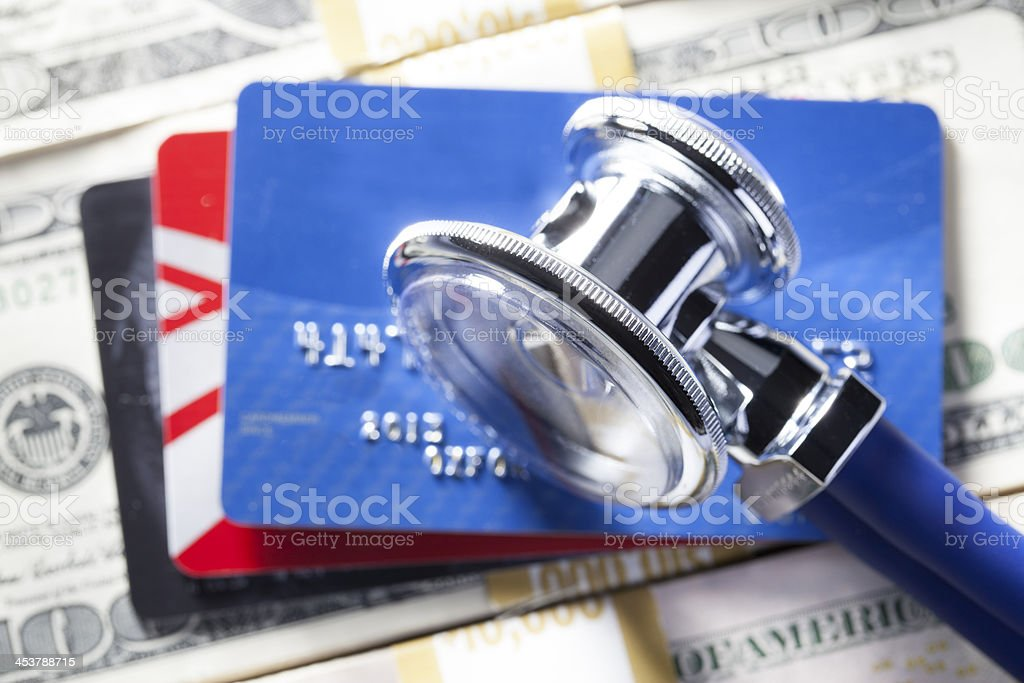 Financial Health royalty-free stock photo