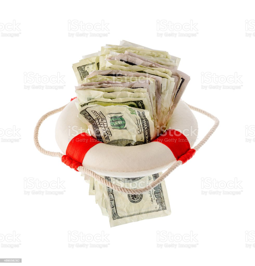 Financial help concept royalty-free stock photo