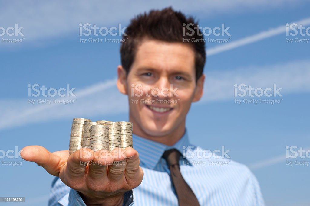 Financial incentive royalty-free stock photo