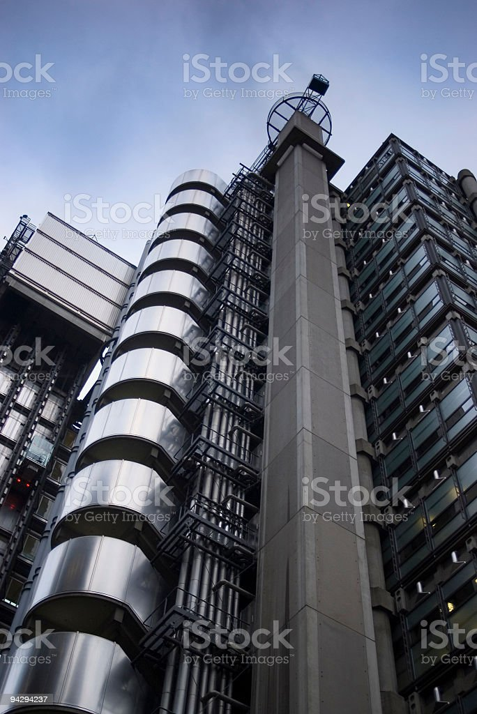 Financial institution, London royalty-free stock photo