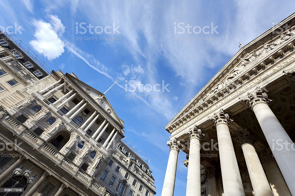 Financial institutions stock photo