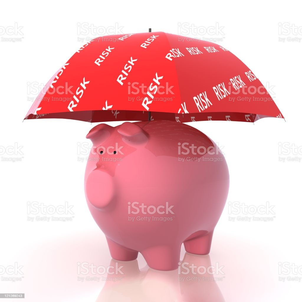 Financial Insurance royalty-free stock photo