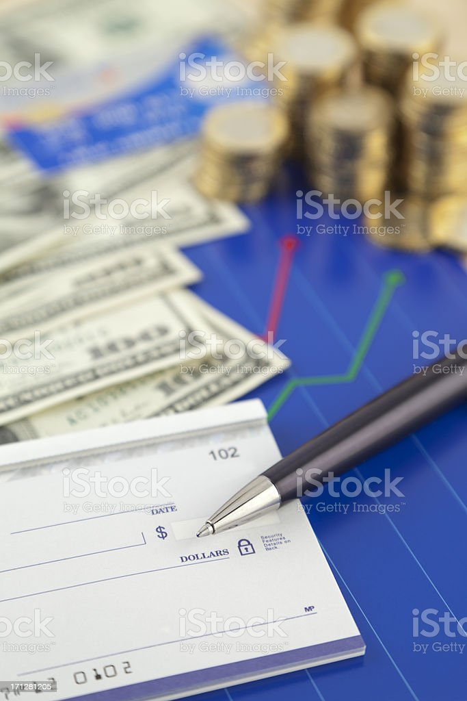 Financial Items royalty-free stock photo