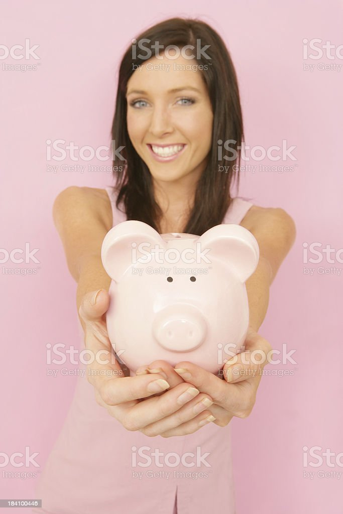 Financial Joy royalty-free stock photo