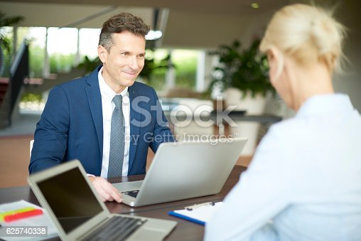 625740042 istock photo Financial management at office 625740338