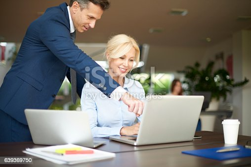 625740042 istock photo Financial management in the office 639369750