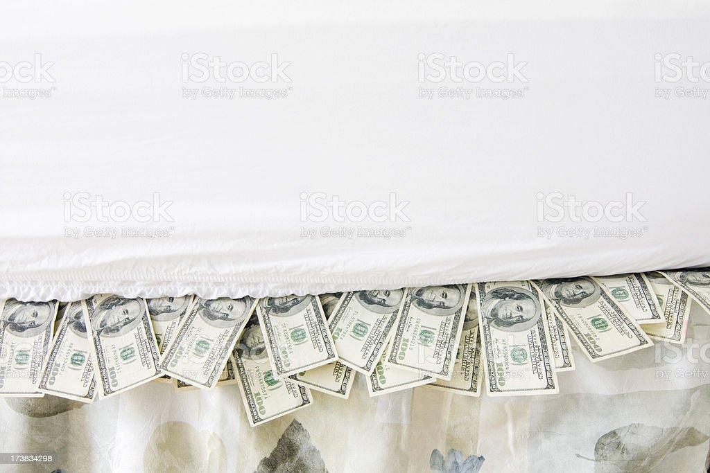 Financial Paranoia stock photo