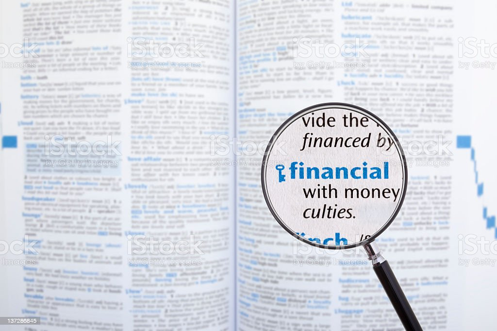Financial royalty-free stock photo