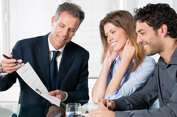 consultation de planification financière - Photo