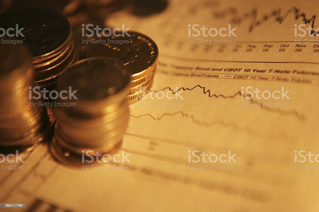 Financial Planning stock photo