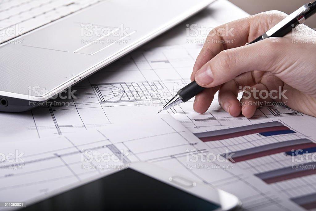 Planificación financiera - foto de stock