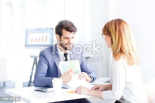 546183298 istock photo Financial planning 546182764