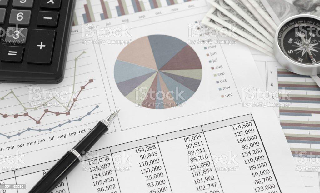Planejamento financeiro - foto de acervo