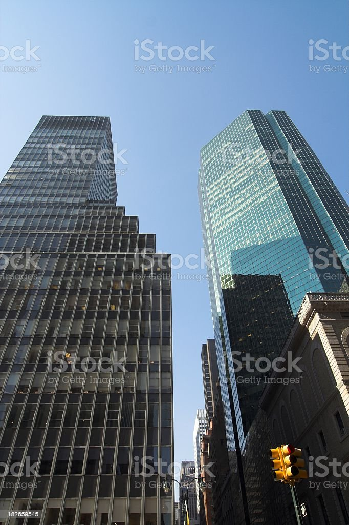 Financial Powerhouses royalty-free stock photo