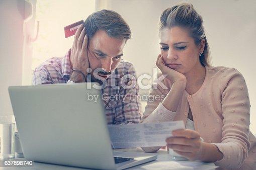 istock Financial problem. 637898740