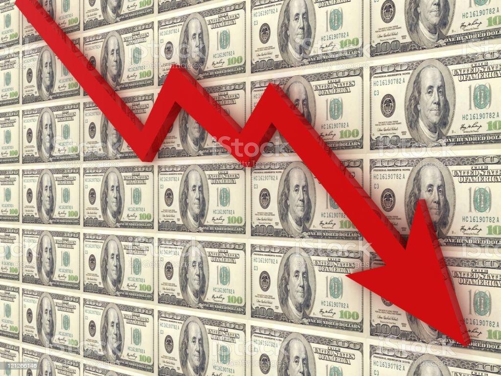 Financial Recession stock photo