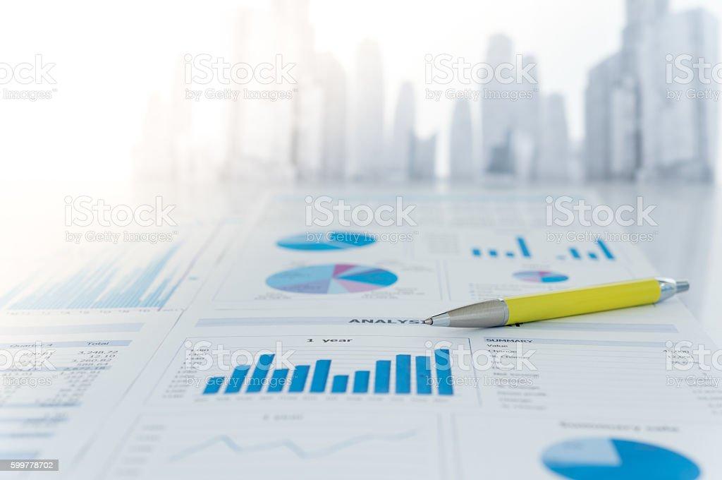 Rapport financier  - Photo
