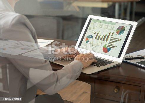 istock financial report spreadsheet 1184777559