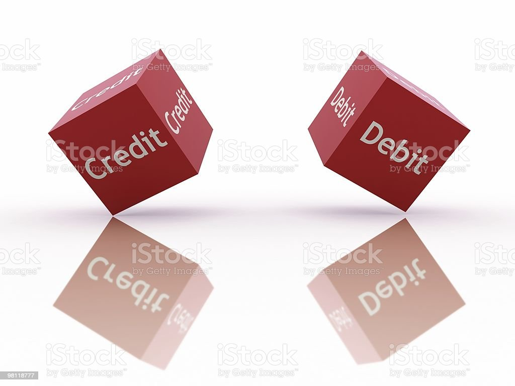 Financial Risk royalty-free stock photo
