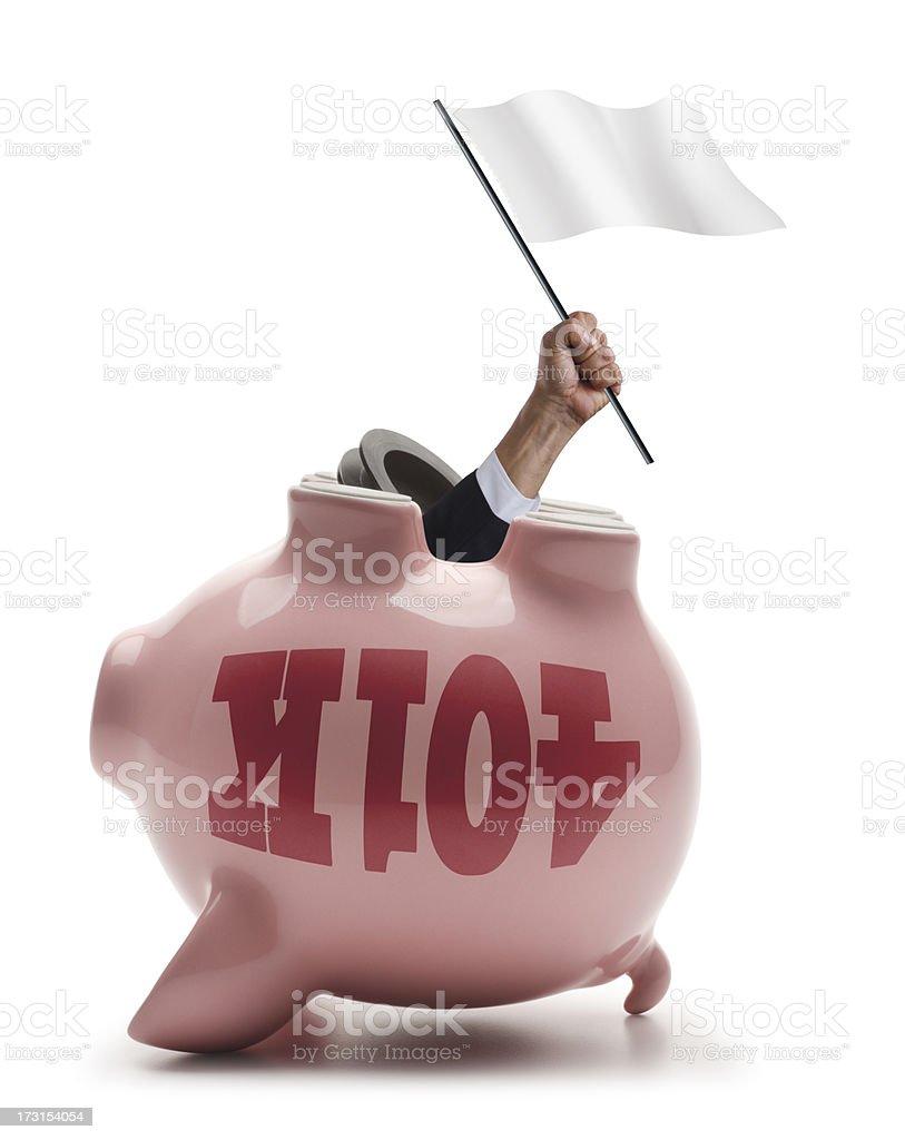 Financial Ruin royalty-free stock photo