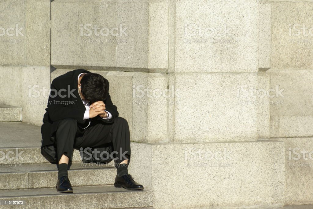 Financial ruin, recession. royalty-free stock photo