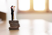 Financial save money for wedding. Prepare for marriage expenses