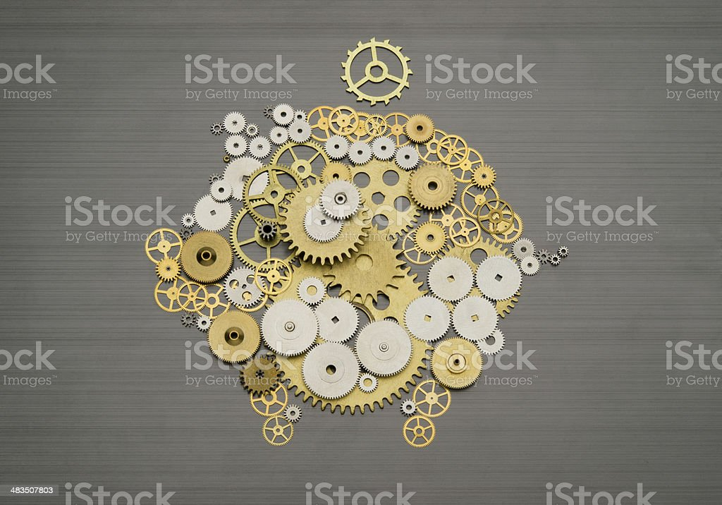 Financial savings mechanism stock photo