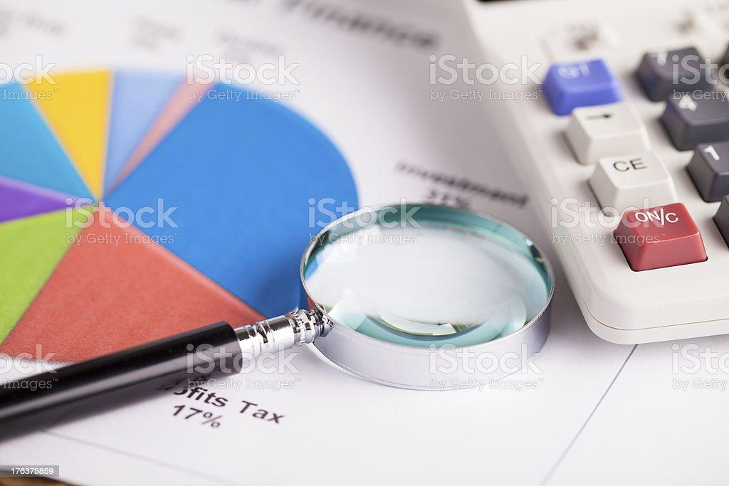 financial series royalty-free stock photo