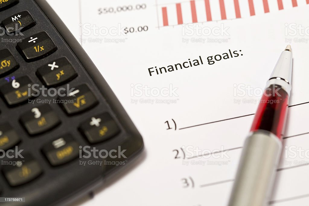 Financial series Xl royalty-free stock photo