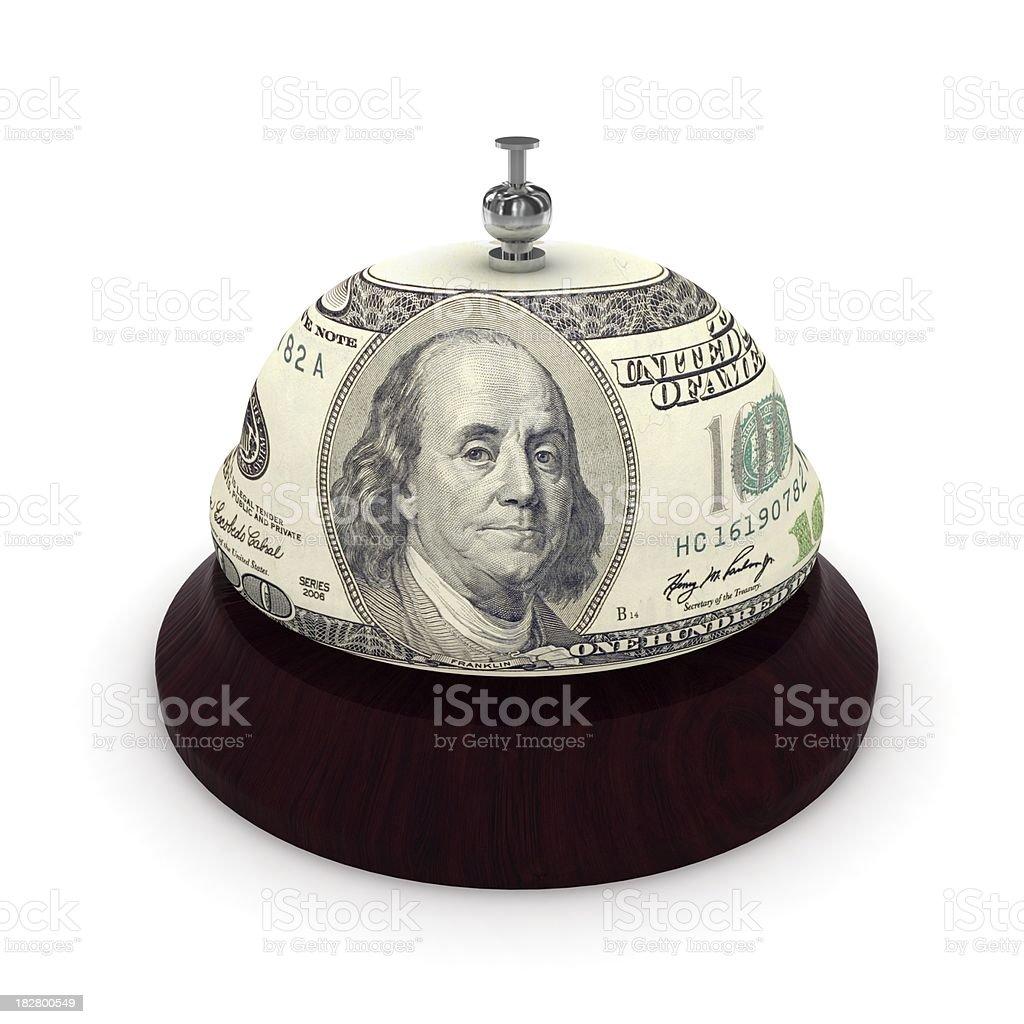 Financial Service royalty-free stock photo