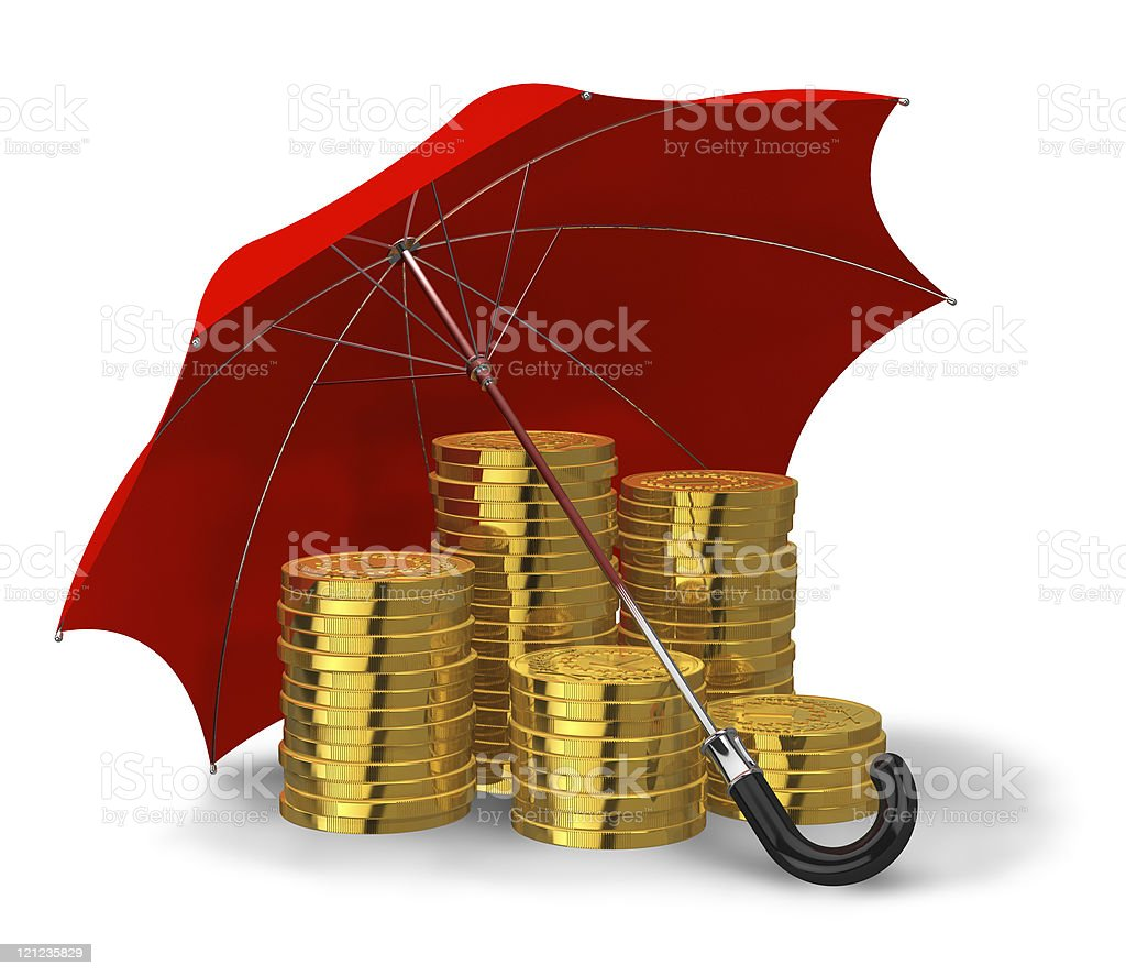 Financial stability and success concept royalty-free stock photo