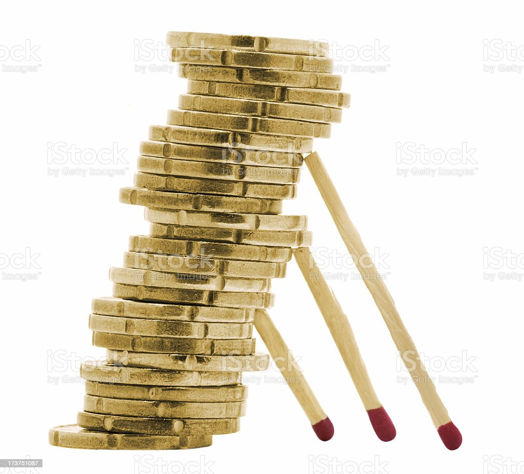 financial stability royalty-free stock photo