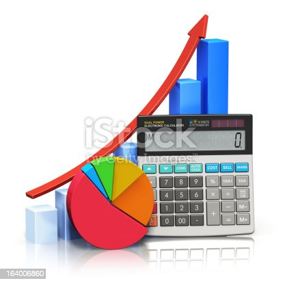 istock Financial success and accounting concept 164006860