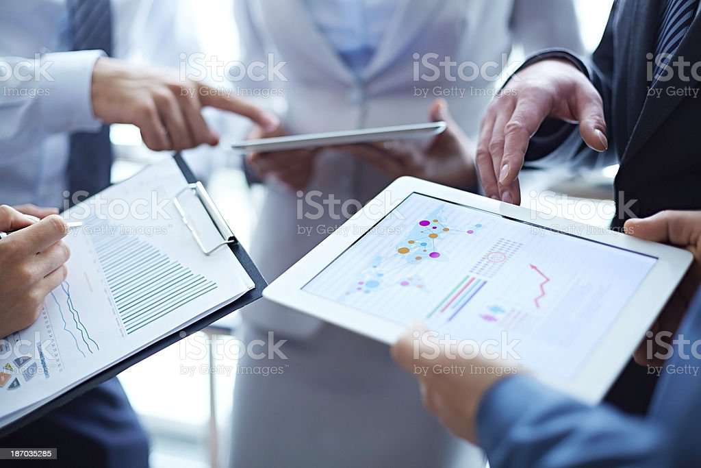 Financial success stock photo