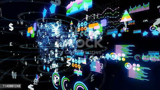 istock Financial technology concept. Fintech. 1140691243
