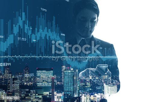 istock Financial technology concept. Fintech. 919567592