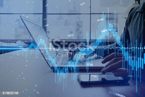 913603748 istock photo Financial technology concept. 913603748