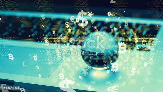 1019729218 istock photo Financial technology concept. 926526294