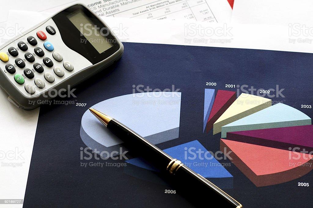 Financial Tools royalty-free stock photo