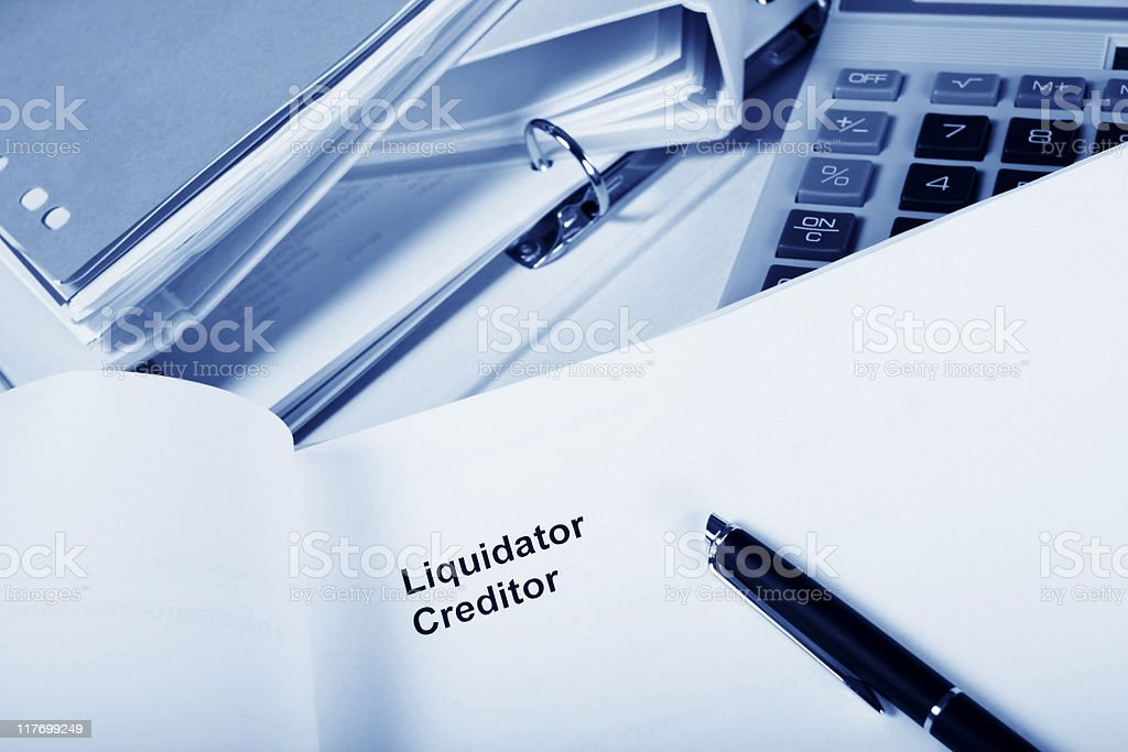 Financial worries royalty-free stock photo