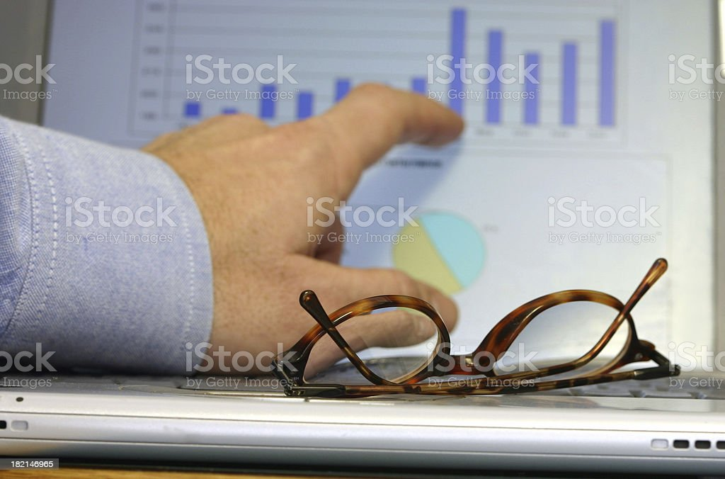 Financials royalty-free stock photo